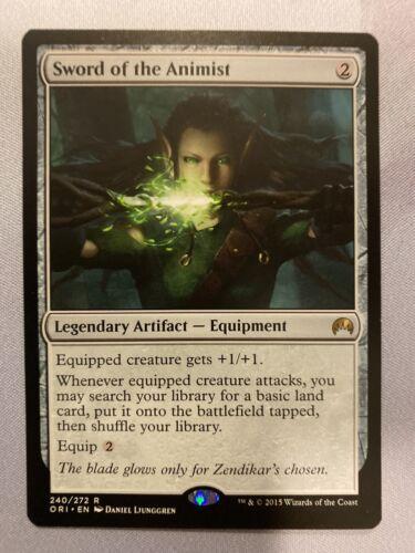 Sword of the Animist Magic Origins NM