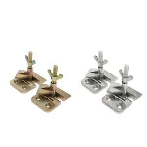 Screen-Printing-Butterfly-Hinge-Frame-Clamp-Durable-Stainless-DIY-Tool