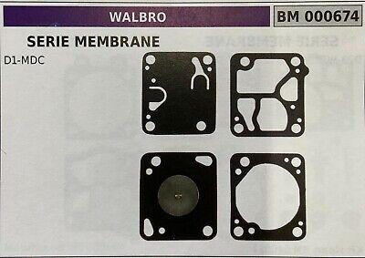 MEMBRANA//KIT RIPARAZIONE WALBRO BM006633
