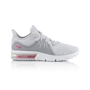 Details about Nike Air Max Sequent 3 Women's shoe Pure PlatinumRacer PInkWolf Grey