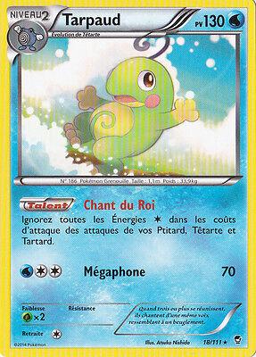 Carte Pokemon Neuve Française 12//111 XY3:Poings Furieux Poussifeu Reverse