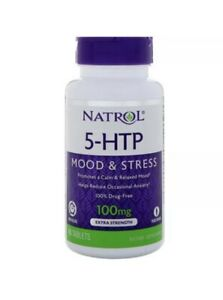 Natrol 5-Htp Time Release Extra Strength 100 MG 45 Tablets ...