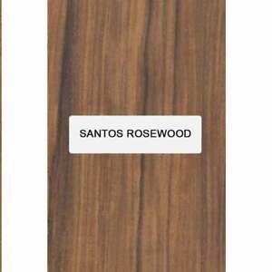 "Santos Palissandre Guitare Archtop Tailpiece Blank, 8 "" x 3.4 "" X 5/8 """