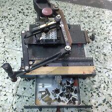 GRAVOGRAPH Vigor NEW HERMES ENGRAVING MACHINE ENGRAVER Engravograph used