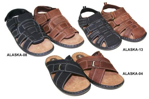 ALASKA Men/'s Casual Genuine Leather Fisherman Walking Sandals sz 6.5-13