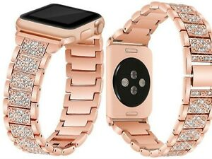 For-Apple-Watch-Band-Series-1-2-3-4-Stainless-Steel-Glitter-42-44mm-40-38mm