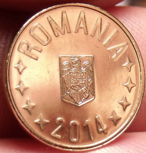 Gem Unc Romania 2014 Ban~See All Our Unc Coins~Free Shipping