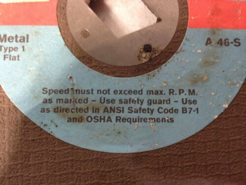 "a 46-S ITA CORP 8/"" x 1//8/"" x Diamond  Metal Cut Off Wheel pack of 5"