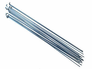 PILLAR P14 18pcs, Length: 250mm - 298mm, Stainless Steel, Silver Bicycle Spokes