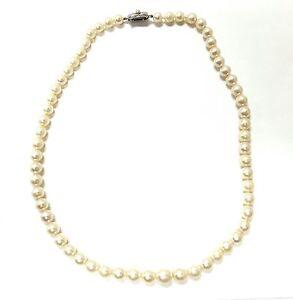 Old Antique Vintage Pearl Necklace