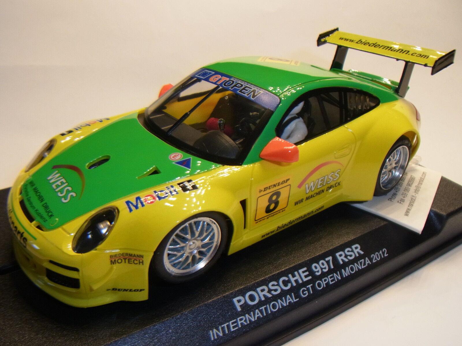 NSR PORSCHE 997 GT RSR équipe Manthey MONZA 2012 pour circuit de course