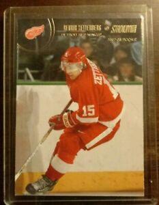2002-03-HENRIK-ZETTERBERG-Rookie-RC-127-NHL-Detroit-Red-Wings-Topps-Stadium-Club