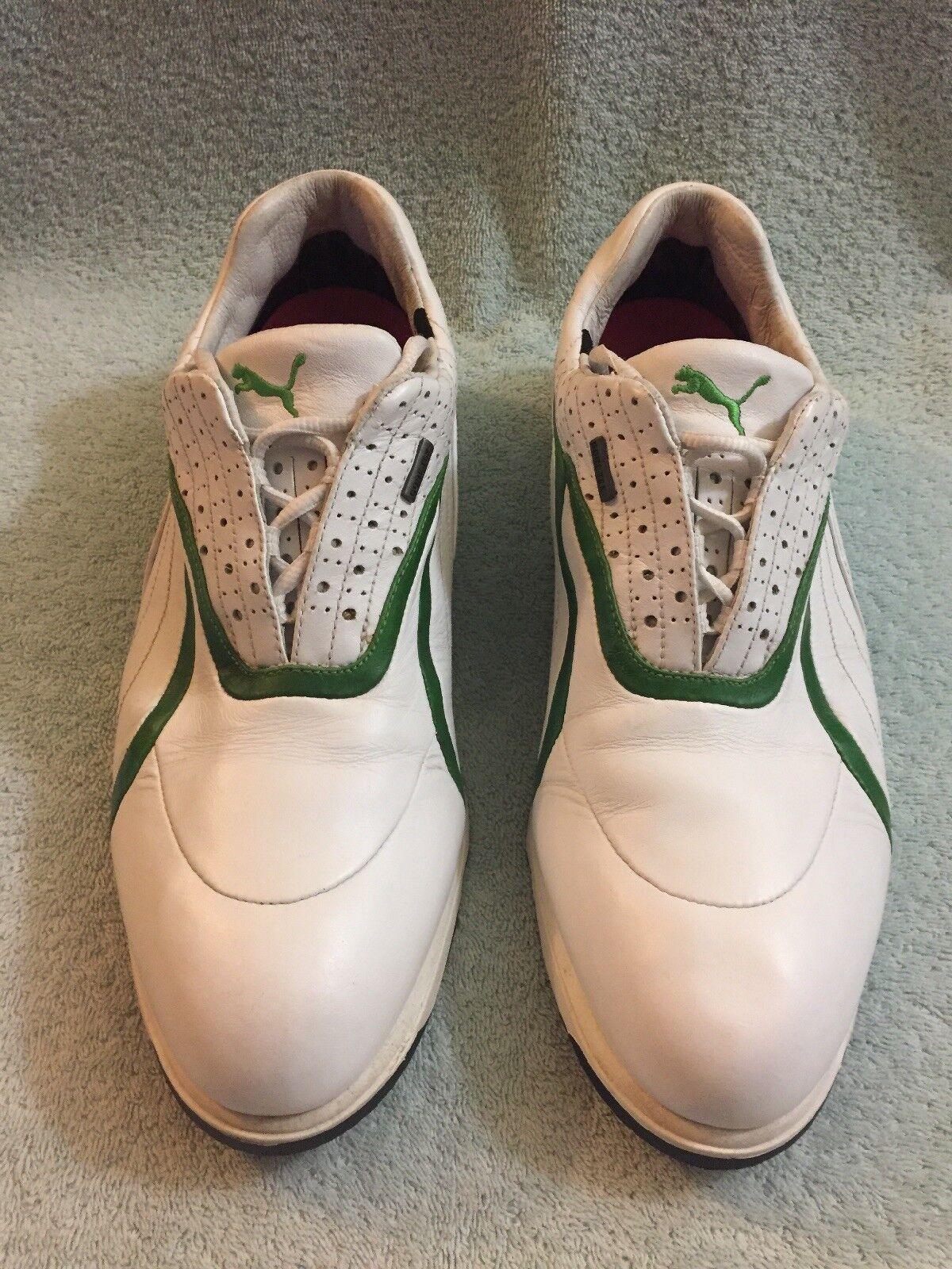 Puma GTX Gore-Tex Mens Golf Shoes White