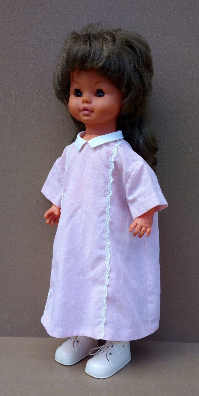 Ancienne poupée GéGé Caroline jouet CP2B LM PARLE & MARCHE FONCTIONNE voir vidéo