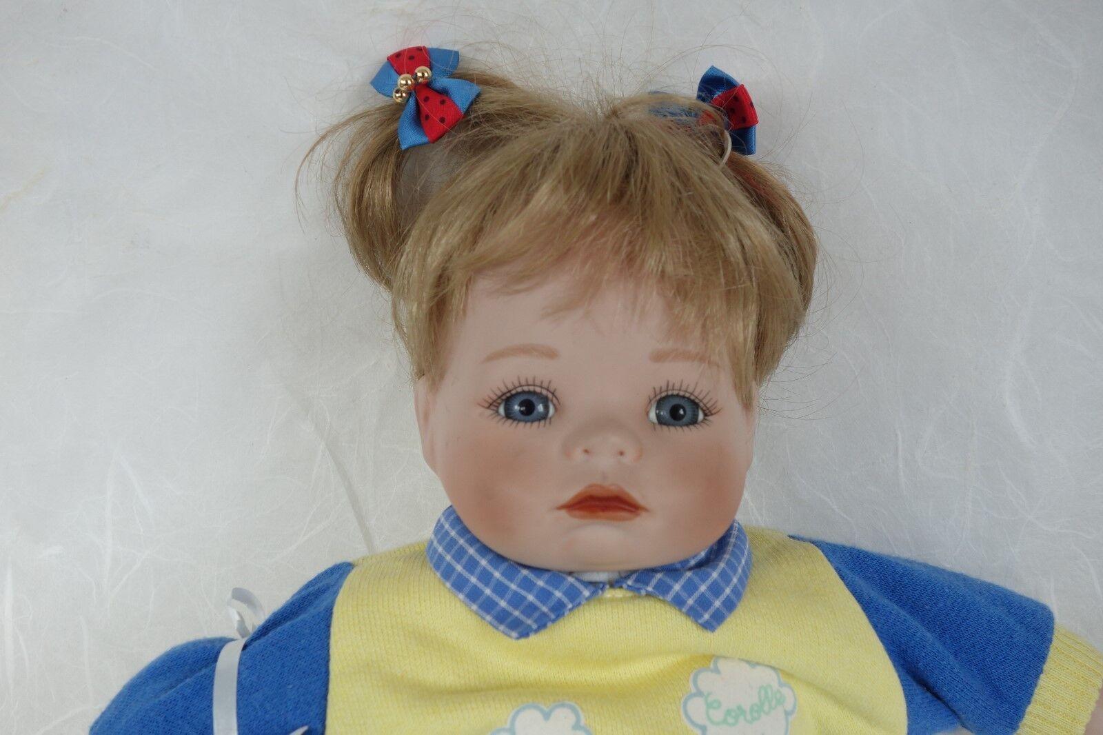 Puppe Hannah 1992 35 cm Künstlerpuppe Porzellanpuppe Deko
