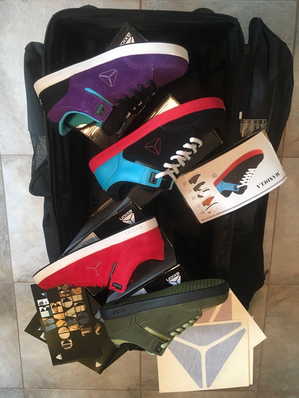 Axion Footwear Mandela Size 9 Lot Of 4