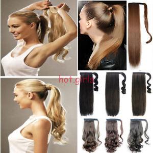 Awe Inspiring Mega Long Clip In Hair Extension Wrap Around Clip On Ponytail Hair Short Hairstyles For Black Women Fulllsitofus