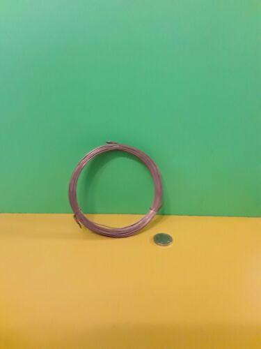 Approx 100 G rouleau de .8 mm en Cuivre Plaqué Fil d/'acier