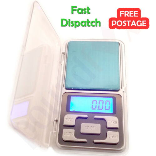 Portable 200g 0.01g Mini Digital Pocket Scale MH-200 Jewelry Herb Gold Weight UK