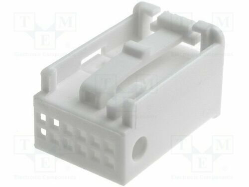 770020 Housing cap Works with:770010 plug white Quadlock 12pin