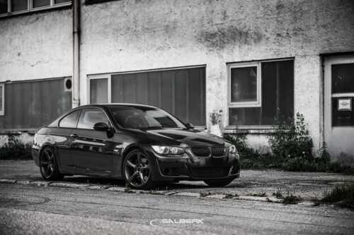 Riñones Negro Brillo BMW Serie 3 E93 Cabrio Vfl Salberk 9201 Parrilla Delantera