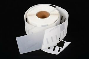 1 Rolle 99013 Etiketten transparent Kompatibel DYMO LABELWRITER 36x89mm