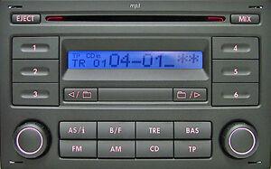 Refurbed-Volkswagen-VW-Sharan-Lupo-Polo-RCD200-Aux-CD-Radio-Audio-Code-Warranty