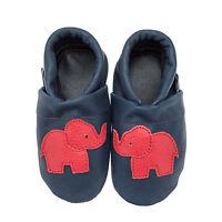 pantau.eu Baby Lederpuschen Lauflernschuhe Babyschuhe Krabbelschuhe mit Elefant