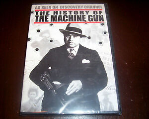 THE-HISTORY-OF-THE-MACHINE-GUN-Guns-Firearms-Discovery-Channel-Firearm-DVD-NEW
