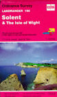 Landranger Maps: Sheet 196: Solent and the Isle of Wight by Ordnance Survey (Sheet map, folded, 1991)