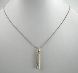 beeindruckende-925er-Silber-Halskette-amp-Anhaenger-Sterlingsilber-Vintage-6-40g