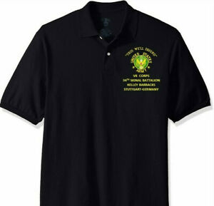 VII-CORPS-34TH-SIGNAL-BATTALION-KELLEY-ARMY-EMBROIDERED-LIGHT-WEIGHT-POLO-SHIRT