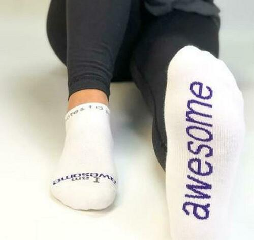 Details about  /NOTES TO SELF-White low-cut socks-3 Styles Choose Your Favorite-New W//Tags