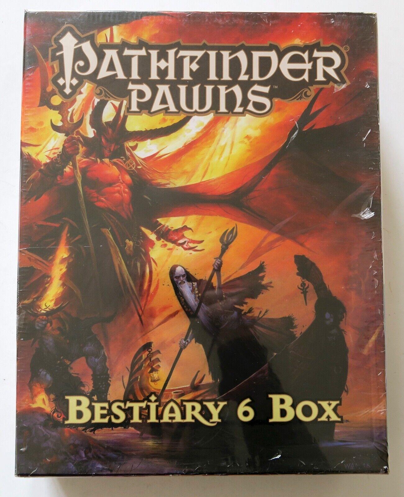 Pathfinder Pawns Pawns Pawns Bestiary 6 Box Roleplaying Game RPG Paizo f17399
