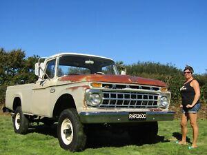 1965 American Ford F250 4x4 Pickup Amazing Original Paint Survivor