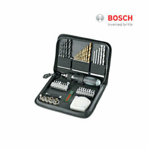 46pc-Bosch-Promo-X-Line-Bit-Set-Multi-Purpose-Driver-Drill-Bit-Pouch-Set-ea