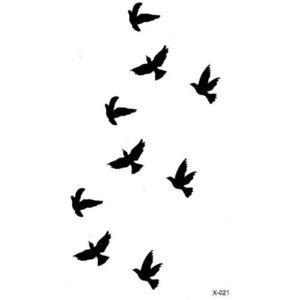Voegel-Vogel-Schwarz-Temporary-Temporaere-Einmal-Tattoo-5-5-x-10-5-cm-X-021