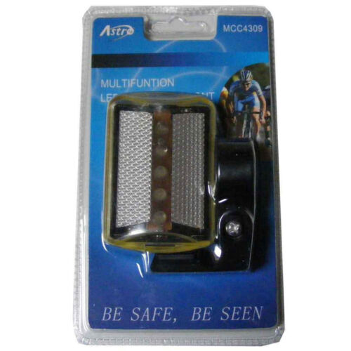 Waterproof Multifunction 5 LED Bicycle Light Bike Cycling Front Back Battery
