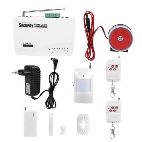 Système d/'Alarme de Sécurité Vocale sans Fil Dual PIR Cambrioleur Détecteur GSM
