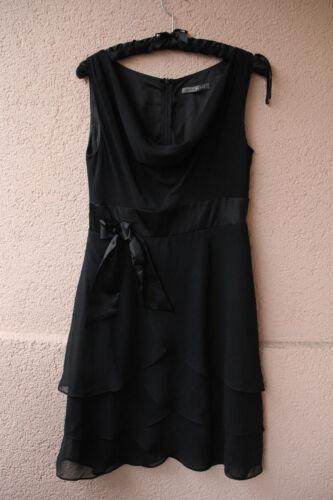 38 chic Schleifchen Kleid Größe abendgarderobe Schwarzes Marie Blanc Von Mit z7fnfOH