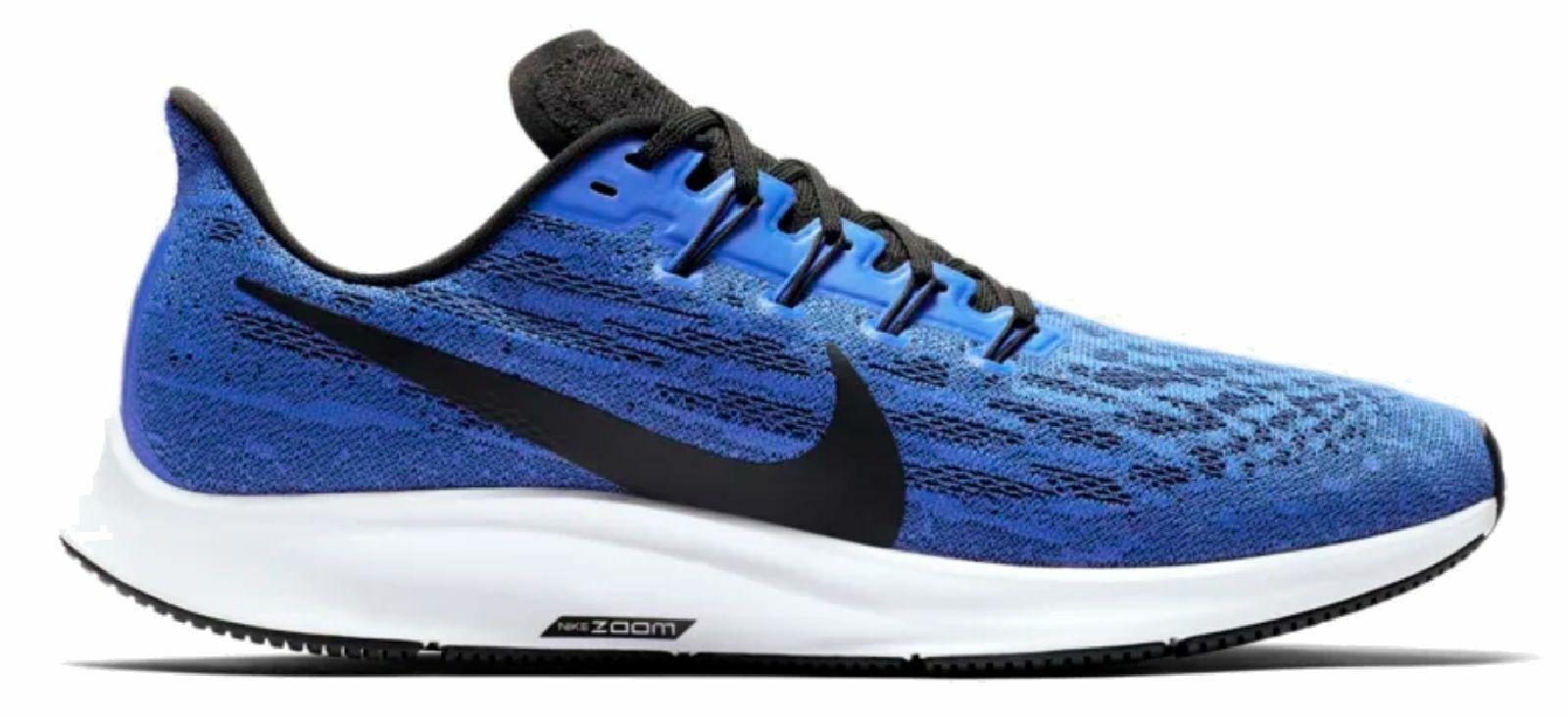 Nike Hombre Zapatillas para Correr Ligero Air Zoom Pegasus 36 M Azul blancoo