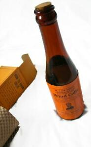 Antique-Veterinary-Medicine-Bottle-and-Box-Dr-David-Roberts-Wind-Colic-Remedy