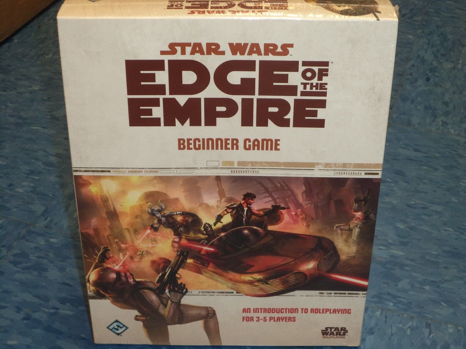 Star Wars Roleplaying Edge of the Empire Beginner Game RPG New