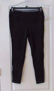 Tangerine Brand Active Carpi  Legging BLACK/BLACK  Women's Sz M NWT MSRP$60