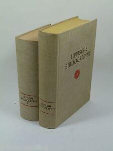 Hansen-W-Bearb-und-E-Fleischhack-Lippische-Bibliographie-I-II