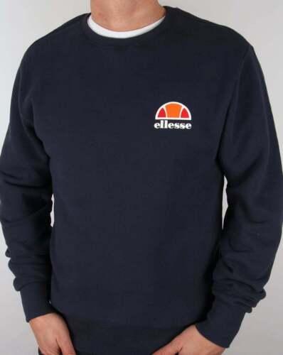 Blue hals met ronde In logo Navy en Trui Sweatshirt Ellesse Divera g7qxCI1