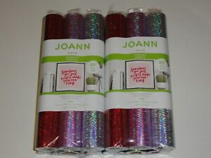 Details about Joann Vinyl Roll Permanent Adhesive Black, White, Laser,  Tranfer Tape 48 Rolls