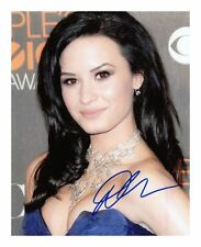 DEMI LOVATO AUTOGRAPHED SIGNED A4 PP POSTER PHOTO 5