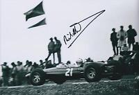 Richard Attwood Classic SIGNED Autograph 12x8 Photo AFTAL COA Le Mans Winner