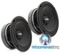 Pair Sundown Audio Sxmp-6.5 8-ohm 6.5 200w Rms Midranges Car Mids Speakers on sale